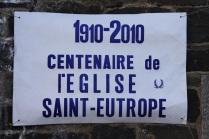 Les 100 ans de l'église