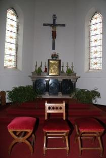 Choeur et l'autel