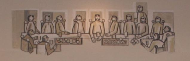 Cène murale