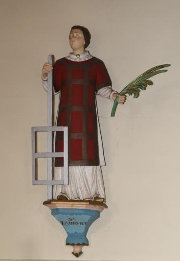 Statue de Saint-Laurent