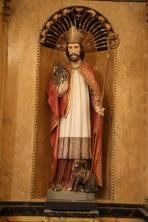Statue de Saint-Remacle
