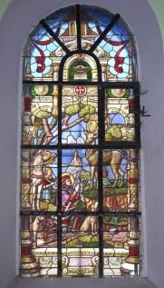 Vitrail de Saint-Hubert
