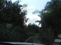 Route vers le village Passa