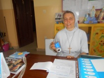 Soeur Roberta la directrice de l'ecole maternelle